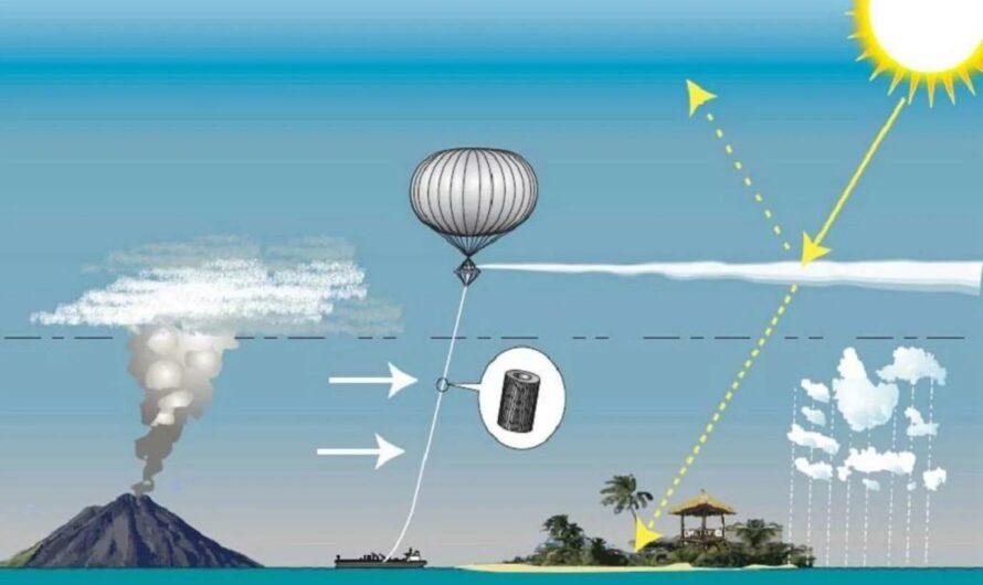Распыление аэрозолей в атмосфере для снижения уровня солнечного света — хорошая идея