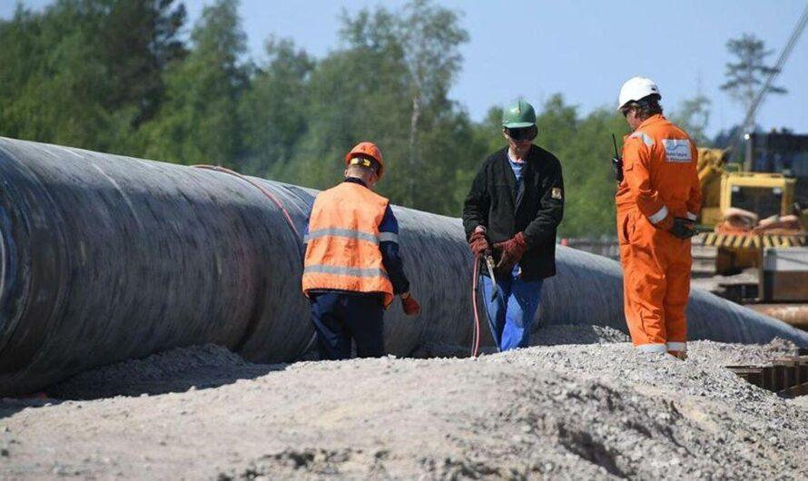 На трубопроводе «Норильсктрансгаза» произошла утечка 44,5 тонны авиационного керосина