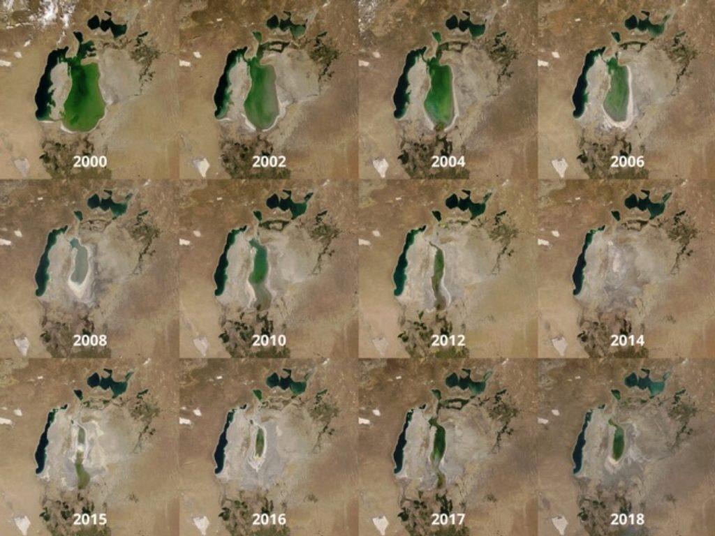 Почему погибает Аральское море?