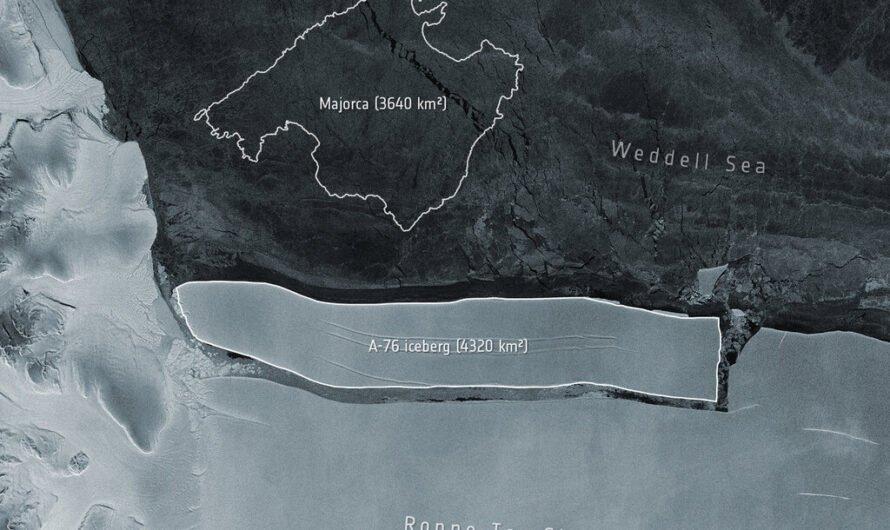 От Антарктиды откололся крупнейший в мире айсберг